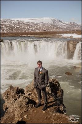 Iceland Wedding Photographer Godafoss Waterfall-5