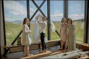 Iceland Wedding at ION Luxury Adventure Hotel