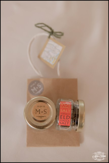 Iceland Wedding Favors