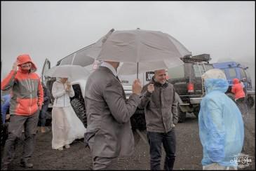 Rainy Iceland Wedding Day