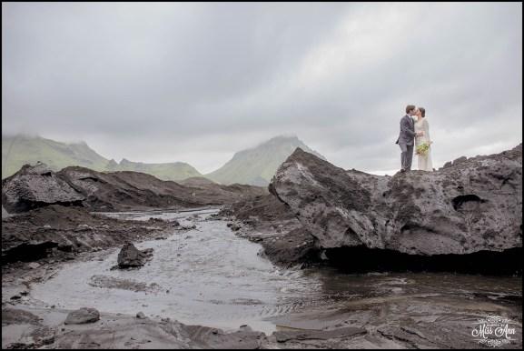 Iceland Glacier Wedding-9
