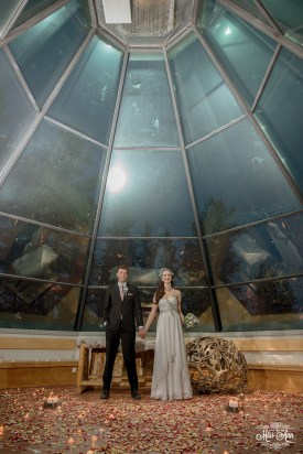 Finland Destination Wedding Igloo Hotel Photos by Miss Ann-24