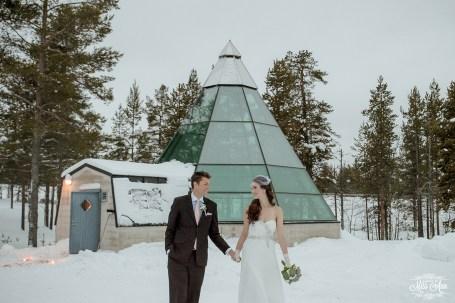 Finland Destination Wedding Igloo Hotel Photos by Miss Ann-33
