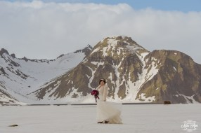 Bride in Iceland - Photos by Miss Ann