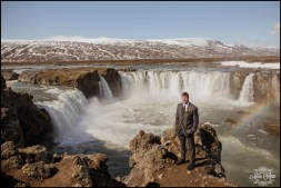 Groom in Iceland Wedding