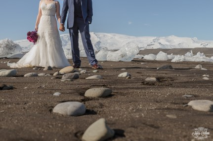 Iceland Beach Wedding