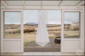 Iceland Destination Wedding Dress