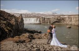 Iceland Wedding Kiss - Photos by Miss Ann