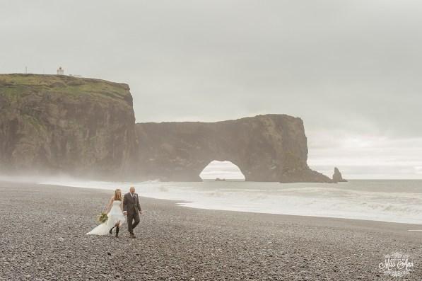 Iceland Beach Wedding