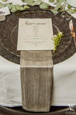 iceland-wedding-rental-silver-napkin