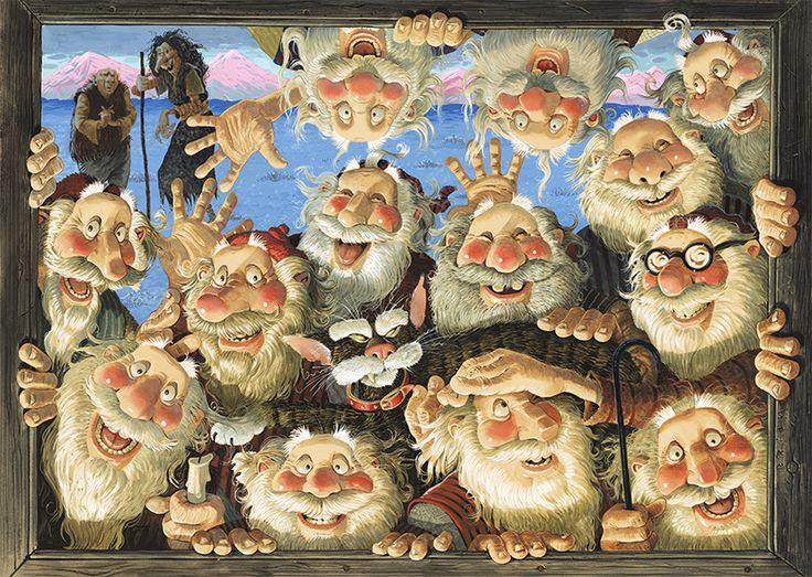 Icelandic Santa Claus – the 13 Yule Lads