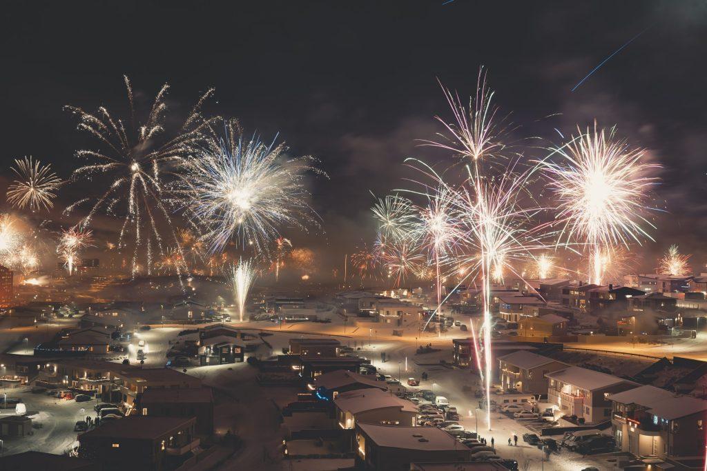 Reykjavik Fireworks – New Year's Eve