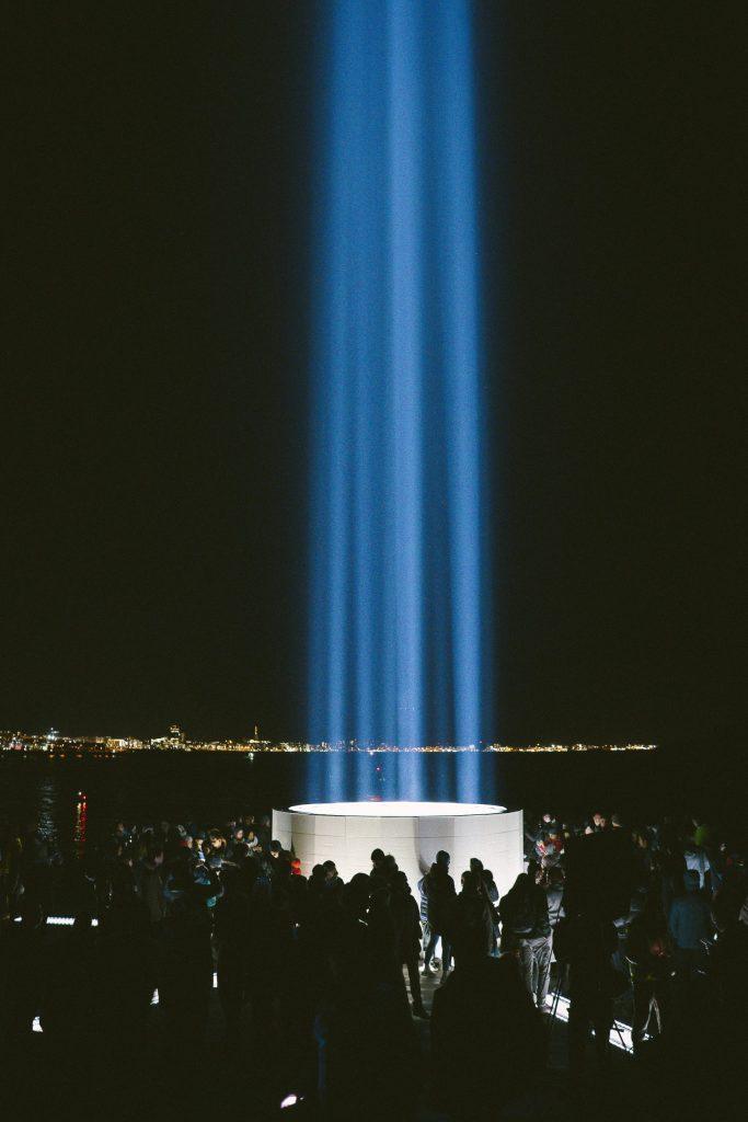 Imagine Peace Tower | Reykjavik, Iceland