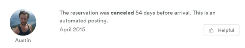 auto cancel