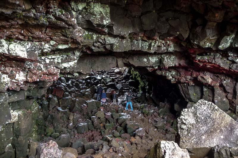 Raufarhólshellir lava cave entrance