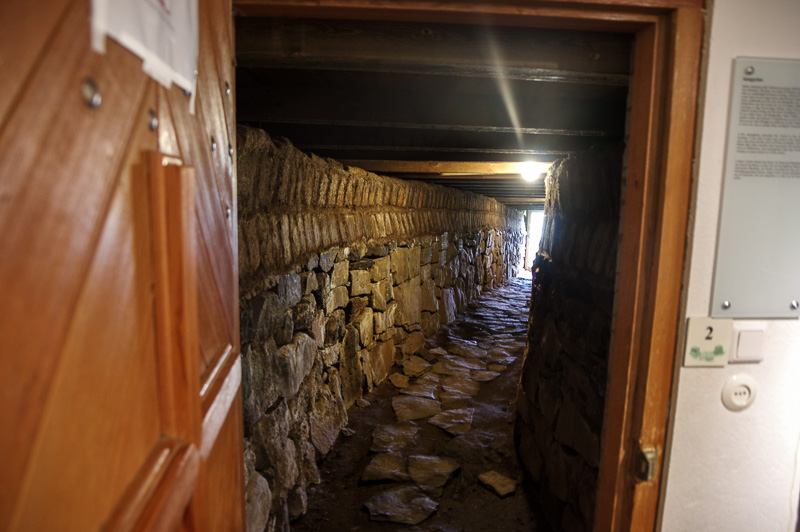 Skálholt secret tunnel