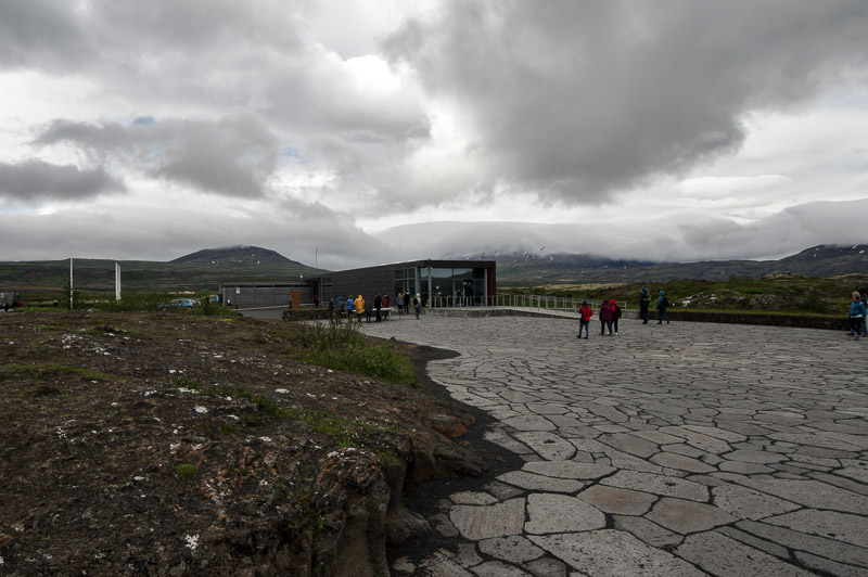 þingvellirvisitors center outside