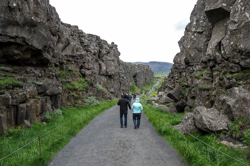 þingvellirvisitors rift hike