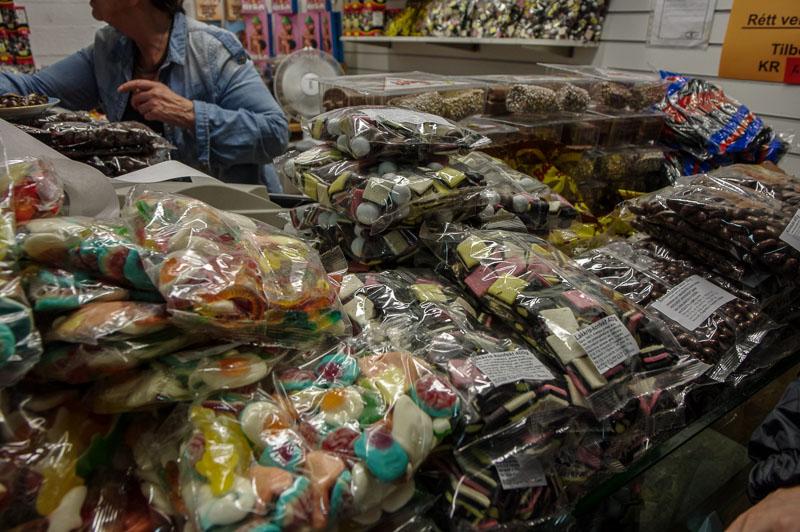 flea market candy licorice