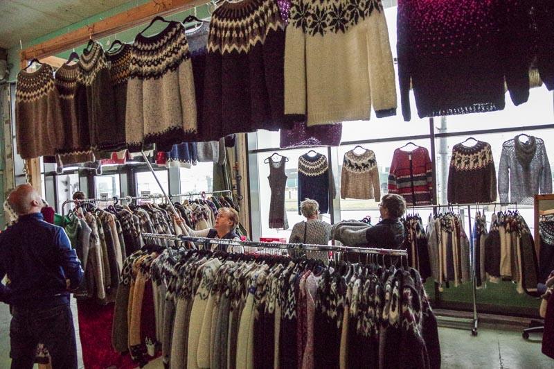 flea market wool sweaters