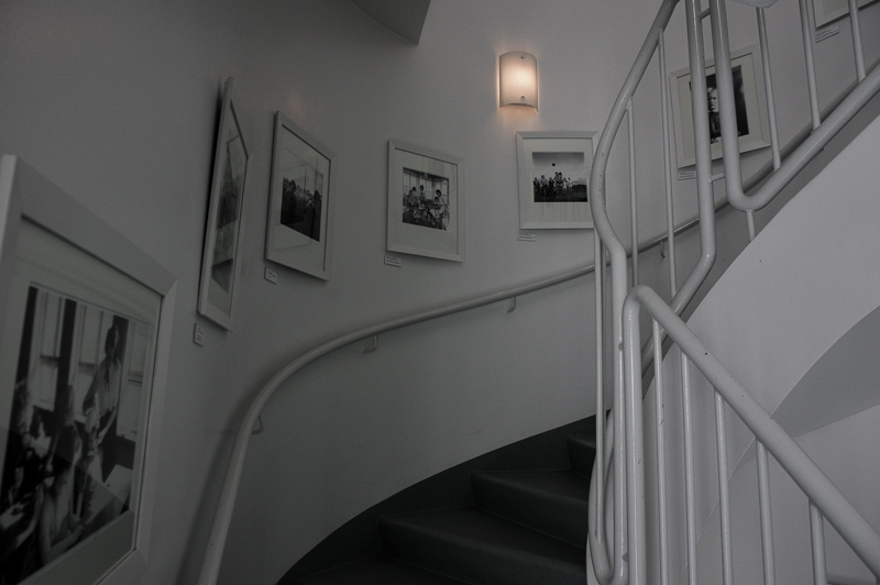 photography museum stairs