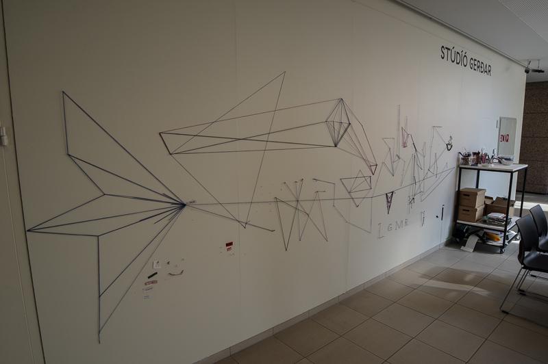 Kópavogur art museum string area