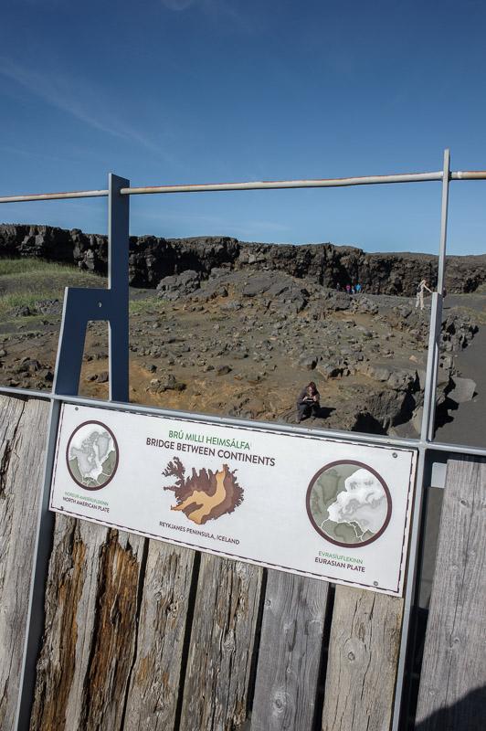 bridge between continents sign