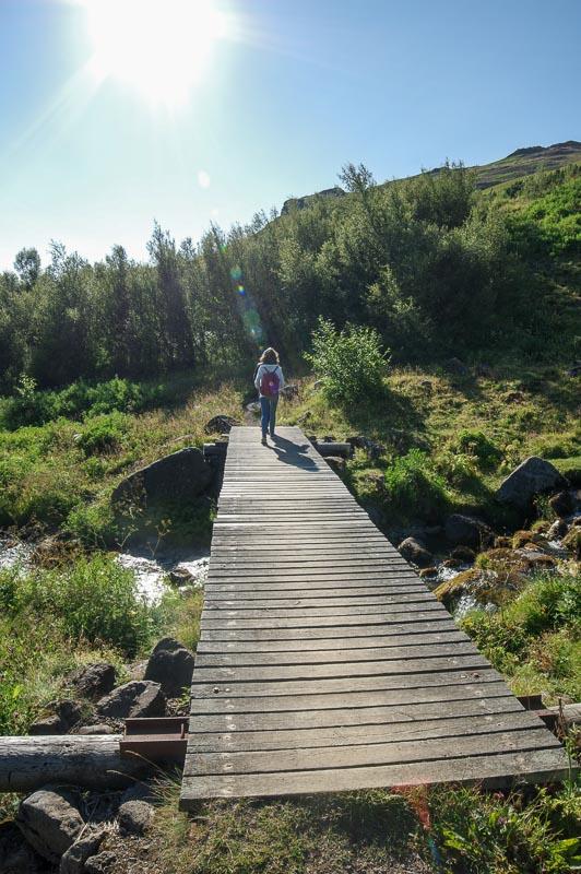 esja wooden bridge