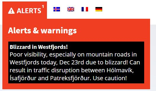 Winter driving tips for iceland snow safety and studded tires if something makes it to safe travel its usually pretty serious so pay attention not all of the warnings will be road or weather related though publicscrutiny Choice Image
