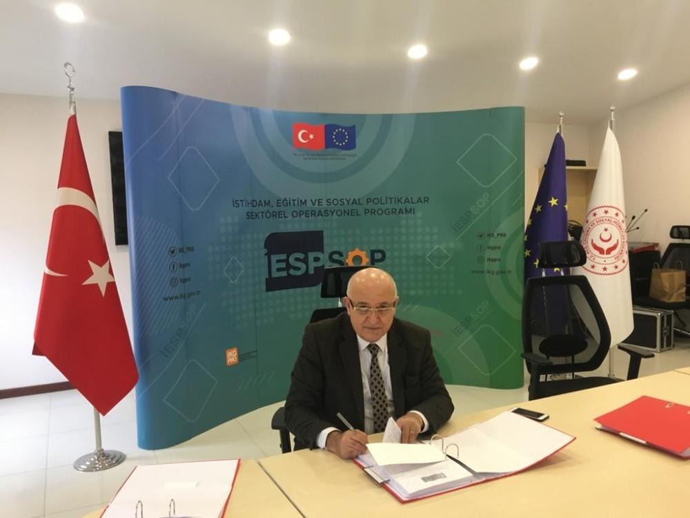 MTSO'nun Mersin'de iş sağlığı ve güvenliğini geliştirecek projesinin imzaları atıldı