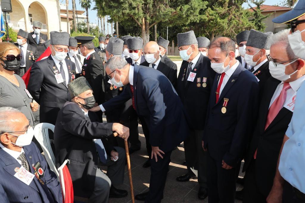 Mersin'de 'Gaziler Günü' törenle kutlandı