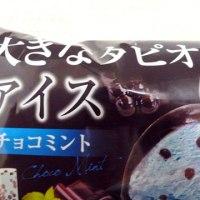 【モチクリームジャパン】 大きなタピオカアイス チョコミント 【スーパー アイス レビュー】