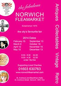 Norwich-Fleamarket-leaflet