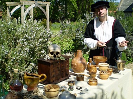 Pensthorpe Mediaeval Spectacular Alchemist