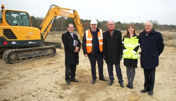 Ground Breaking Ceremony Gets Construction Underway For More New Business Units At Beacon Park