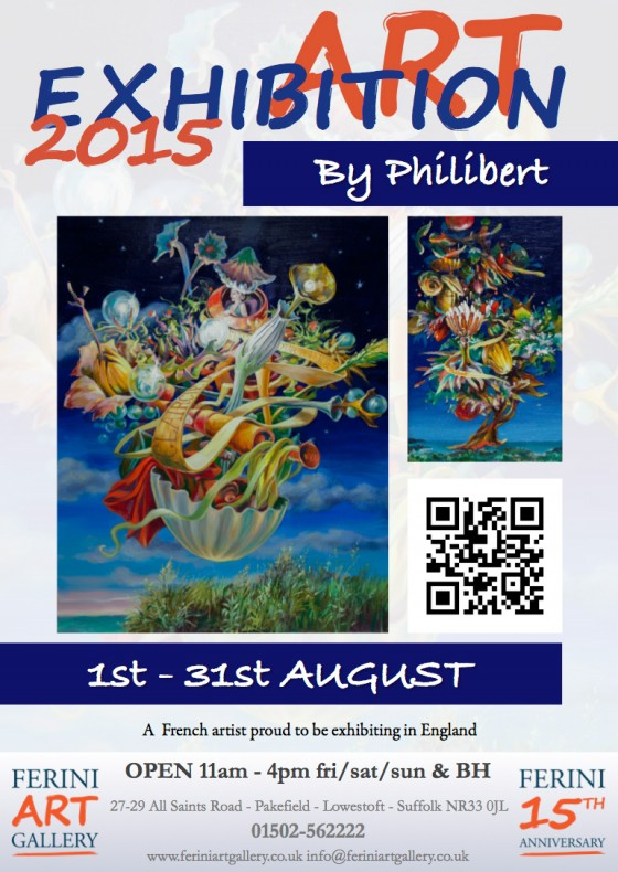 Exhibition-Philibert-ferini-art-gallery