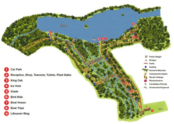 Fairhaven Garden Map