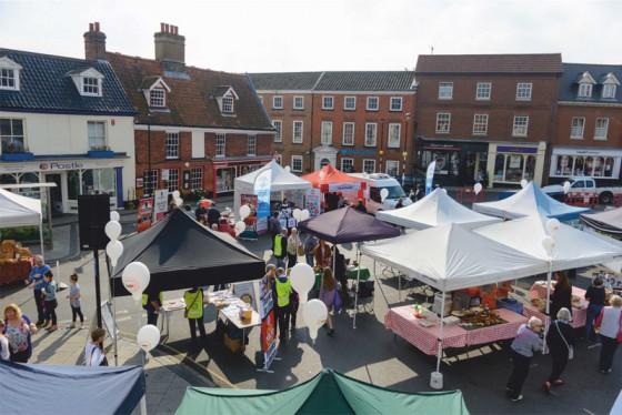 Aylsham Food Festival's 10th anniversary a great success