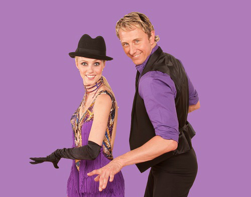 Ian Waite and Camilla Dallerup