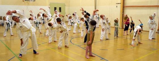 taekwondo-warming-up