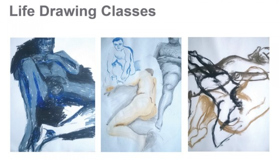 life drawing classes