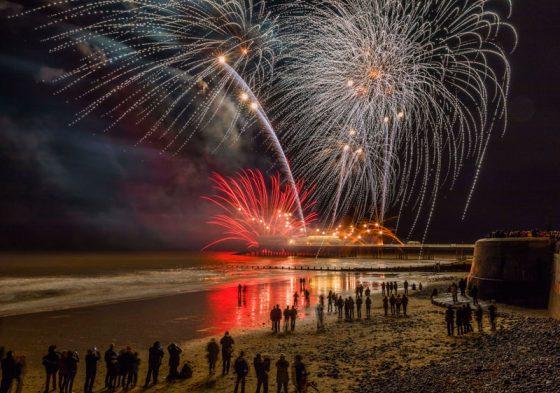 Cromer Pier Fireworks