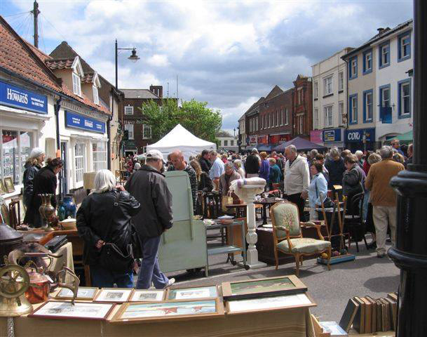 Beccles Antiques market