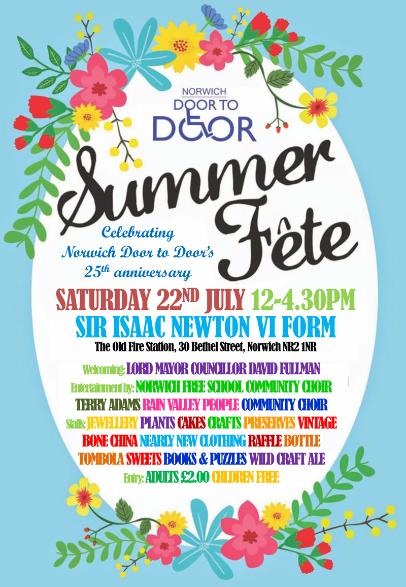 Norwich Door to Door Summer Fete