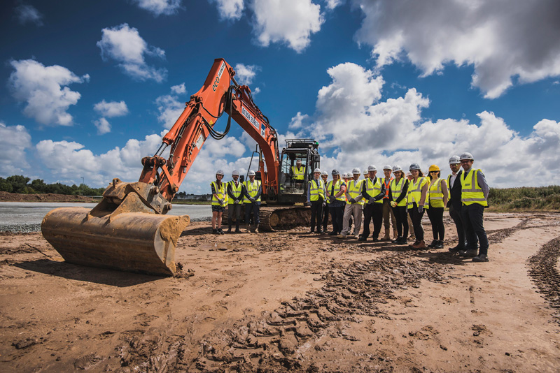 GROUND Has Been Broken For A Multi Million Pound Landmark Headquarters On The Enterprise Zone At Beacon Park Which Will Enable Major Energy Sector