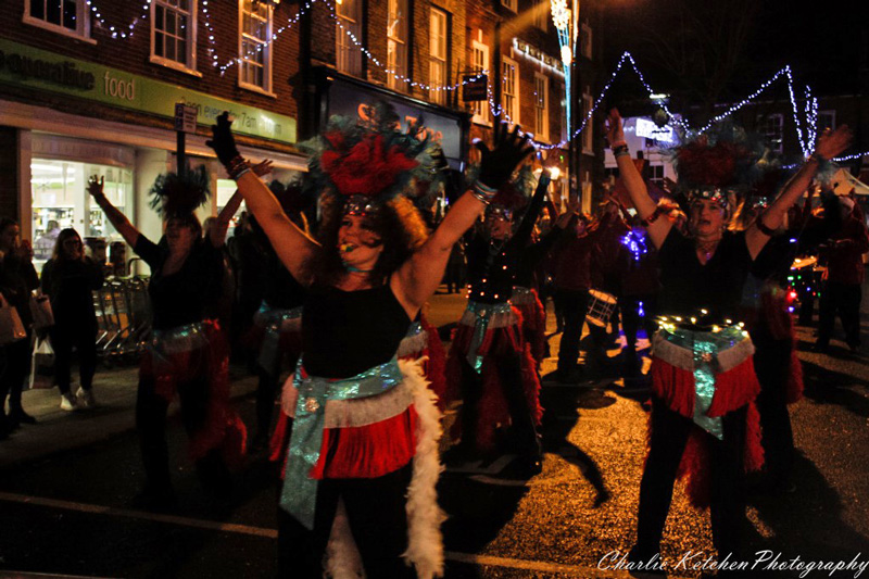 BECCLES CHRISTMAS LIGHTS