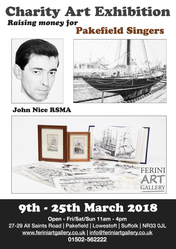 Ferini Art Gallery John Nice exhibition