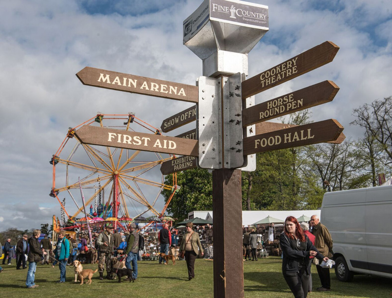 Trade Stands Chatsworth Country Fair : East anglian game country fair sat th sun april