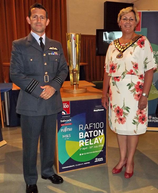RAF CENTENARY BATON RELAY