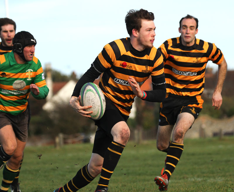 Southwold 2nds played Crusaders and won 22-13